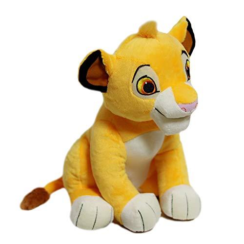 LUOWAN Nette Gute Qualität 1 Stücke Sitzen Hohe 26 cm Simba Der König Der Löwen Plüschtiere Simba Weiche Kuscheltiere Puppe Für Kinder Geschenke