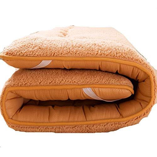 Mqing Giapponese Pieghevole Futon Materasso,Morbida Tradizionale Materasso Tatami Portatile Alleviare Pressione Dormitori Ospite Famiglia Materasso-A-60x120cm(24x47inch)