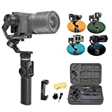 Feiyu G6 Max Kit 3-Axis Splash-Proof Stabilizer YouTube Video Gimbal Tool for Mirrorless Camera Sony a6400 a6100 Sony RX100, Smartphones Like iPhone, Samsung Action Camera GoPro Hero 8 7 6, Sony RX0
