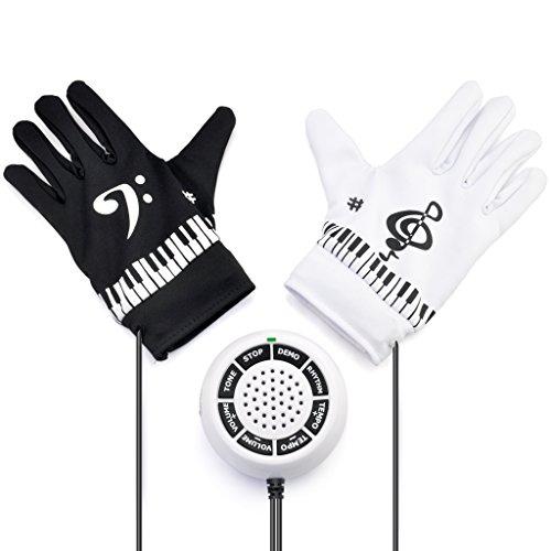 iKKEGOL Elektronische Hand Piano Handschoenen Oefening Instrument Toetsenbord Muzikaal Spel Kerstcadeau cadeau cadeau