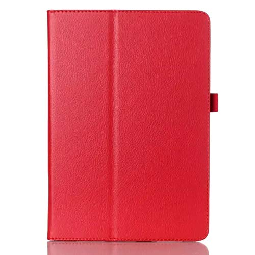 GHC PAD Cases & Covers For Samsung Galaxy Tab S3 9.7 SM-T820 T825, Slim Smart Case Auto Sleep-Wake Up Flip Stand PU Case for Samsung T820 T825 9.7'' (Color : Red)