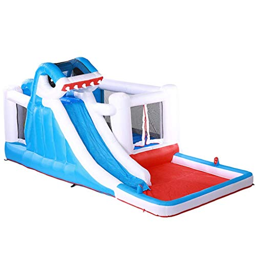 Bouncy Castles Sports Toys Children's Inflatable Castle Children's Water Amusement Park Outdoor Slide Children Trampoline Outdoor Children's Paddling Pool Large Outdoor Toy Children's Bathtub