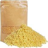 JEMESI Pellets de Cera de Abeja Amarilla - 500g - 100% pura Pastillas de Cera de Abejas, Aptas para Cosmética Natural y Fabricación de Velas