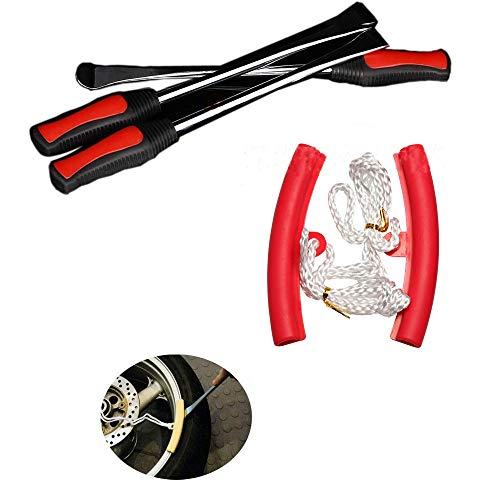 Nobranded 3 Palanca de Neumático Tool Spoon + 2Kit de Herramientas Borde...