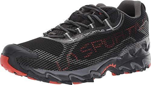 La Sportiva Wildcat 2.0 GTX Running Shoe, Black/Pumpkin, 44