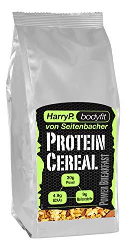 HarryP Bodyfit Protein Müsli Power Cereal, 2er Pack (2 x 454 g)
