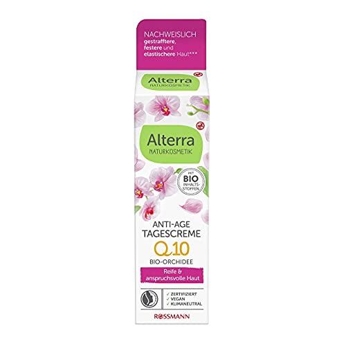 Alterra Anti-Age Tagescreme Orchidee 50 ml für reife & anspruchsvolle Haut, mit Bio-Olivenöl,...