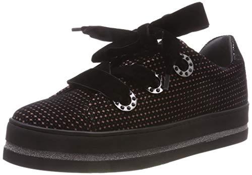 Maripe Damen 27476 Hohe Sneaker, Schwarz (Payette Onice 1), 39 EU