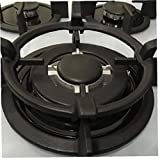 Angoter Universale Ghisa Wok Pan Supporto Rack Supporto per Gas Piani Cottura e cucine Kitchecn Wok Rack Misura la Maggior Parte Fornelli