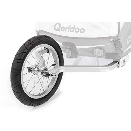 Qeridoo Joggerrad mit Gabelsystem für Einsitzer 2017