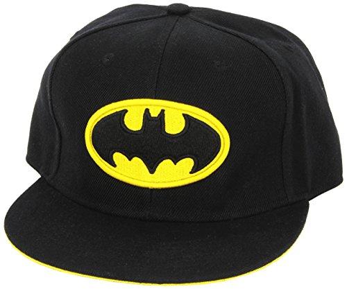 COTTON DIVISION Casquette Batman – Logo visière, Multicolore (Multicouleur Multicouleur), (Taille Fabricant:Taille Unique) Mixte