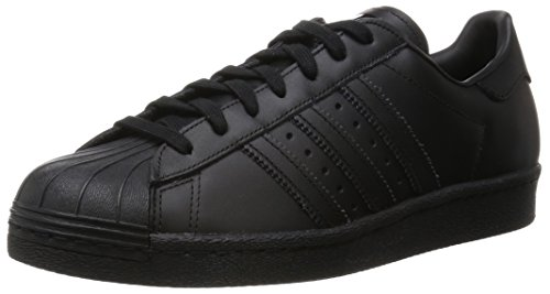 adidas Herren Superstar 80S Outdoor Fitnessschuhe, Schwarz (Core Black), 44 EU
