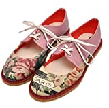 DOGO pency - Zapatos de piel vegana para mujer, (Multi color), 36 EU