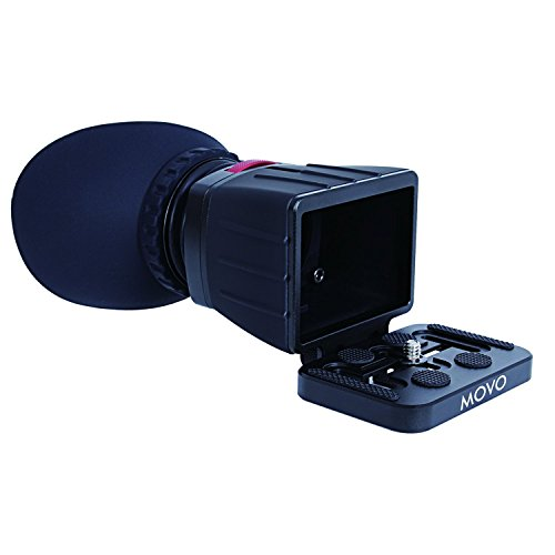 Movo Photo VF30-V2 Universal 3X LCD Video Viewfinder for Canon EOS, Nikon, Sony Alpha, Olympus and Pentax DSLR Cameras