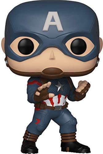 Funko Marvel Pop Capitán América Edición Especial, Multicolor (FK36676)