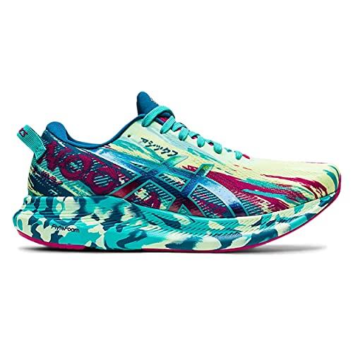 ASICS Noosa Tri 13, Zapatillas de Running Mujer, Illuminate Yellow Sea Glass, 37 EU