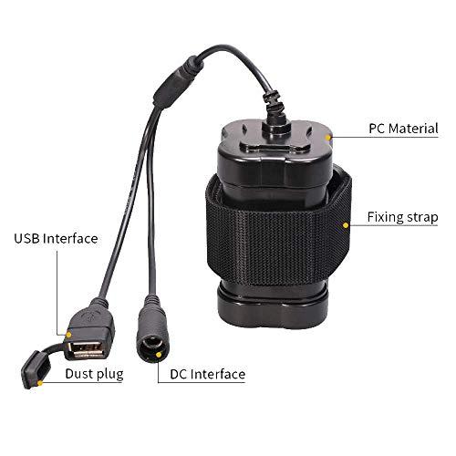Ototon® Mini Ventilateur Portable à Batterie USB Rechargeable Ventilateurs de Poche Silencieux pour Intérieur et Extérieur Bleu