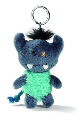 NICI 33384 - Schlüsselanhänger Monster 10 cm, blau