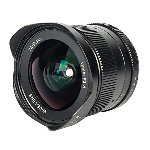 7artisans Manuelles Kameraobjektiv (12 mm, F2.8, für Fuji FX Mount)