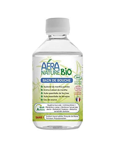 AERA NATURE BIO : Bain de Bouche Désinfectant BIO, 300 ml, by Laboratoire Columbus Natura