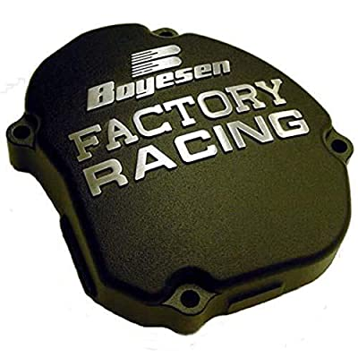 Factory Ignition Cover - Black 2005-2015 Yamaha YZ125 Offroad Motorcycle