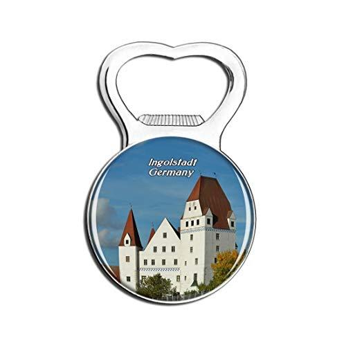Weekino Ingolstadt Neues Schloss Deutschland Bier Flaschenöffner Kühlschrank Magnet Metall Souvenir Reise Gift
