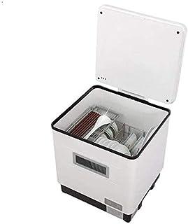 WYZXR Mini lavavajillas de sobremesa Completamente automático para lavavajillas, tecnología de pulverización de Alta presión 3D, desinfección a Alta Temperatura + esterilización UV