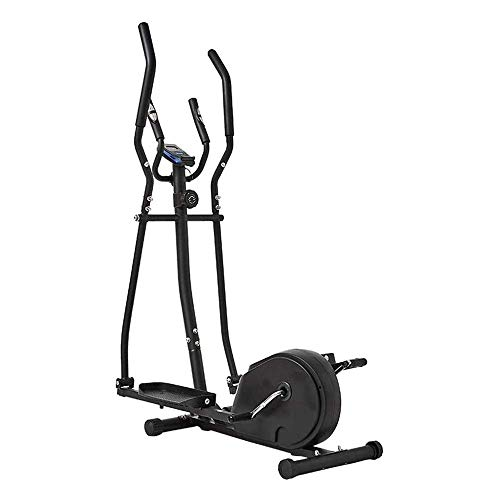 Ellittica, 2 in 1 Cyclette Cardio Fitness Cross Trainer Home Gym Equipmen Macchina ellittica Trainer Cross Trainer, per Uomini/Donne, Brucia Grassi