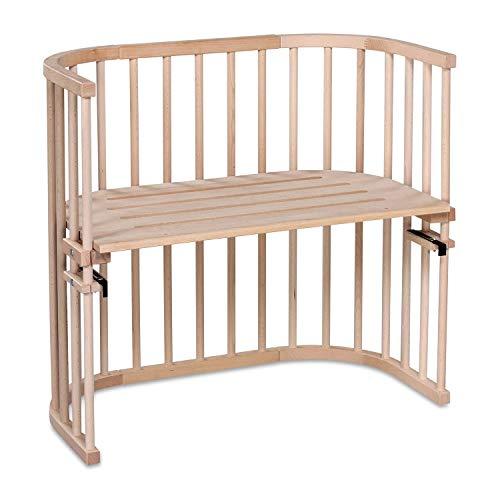 babybay Original - Cuna adosada con ventilación extra, color madera natural