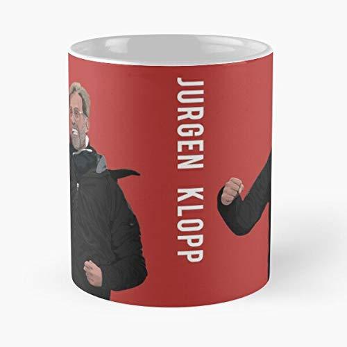 lumeCube Champions Anfield LFC Premier Jurgen Liverpool League Klopp Fc YNWA Best 11 oz Kaffeebecher - Nespresso Tassen Kaffee Motive