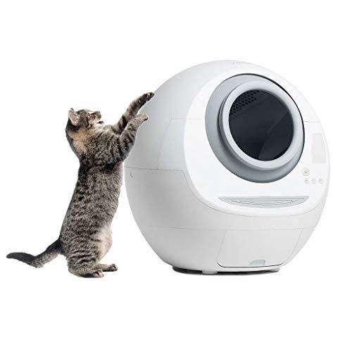 Chunse Selbstreinigende Katzentoilette, vollautomatische Katzentoilette Groß Innovatives Design Hygienisch Geruchsfrei