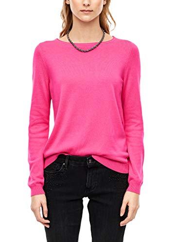 s.Oliver Damen 05.911.61.7013 Pullover, Rosa (Pink 4424), (Herstellergröße: 40)