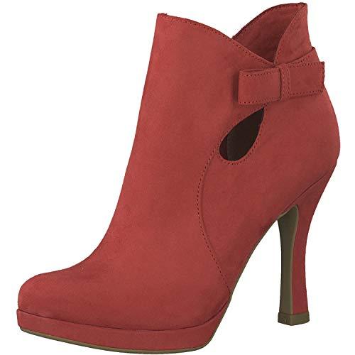 Tamaris Damen Stiefeletten Rot, Schuhgröße:EUR 37
