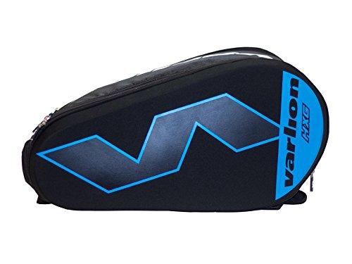 Varlion Hexagon Azul - Paletero de pádel, Unisex Adulto, Azul/Negro