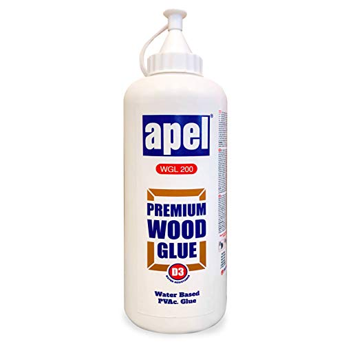 Wood Glue For Woodworking And Hobbies, Extra Strength For Crafts, Water Based Clear PVA Glue For Interior & Exterior, Low Viscosity (32 oz.)