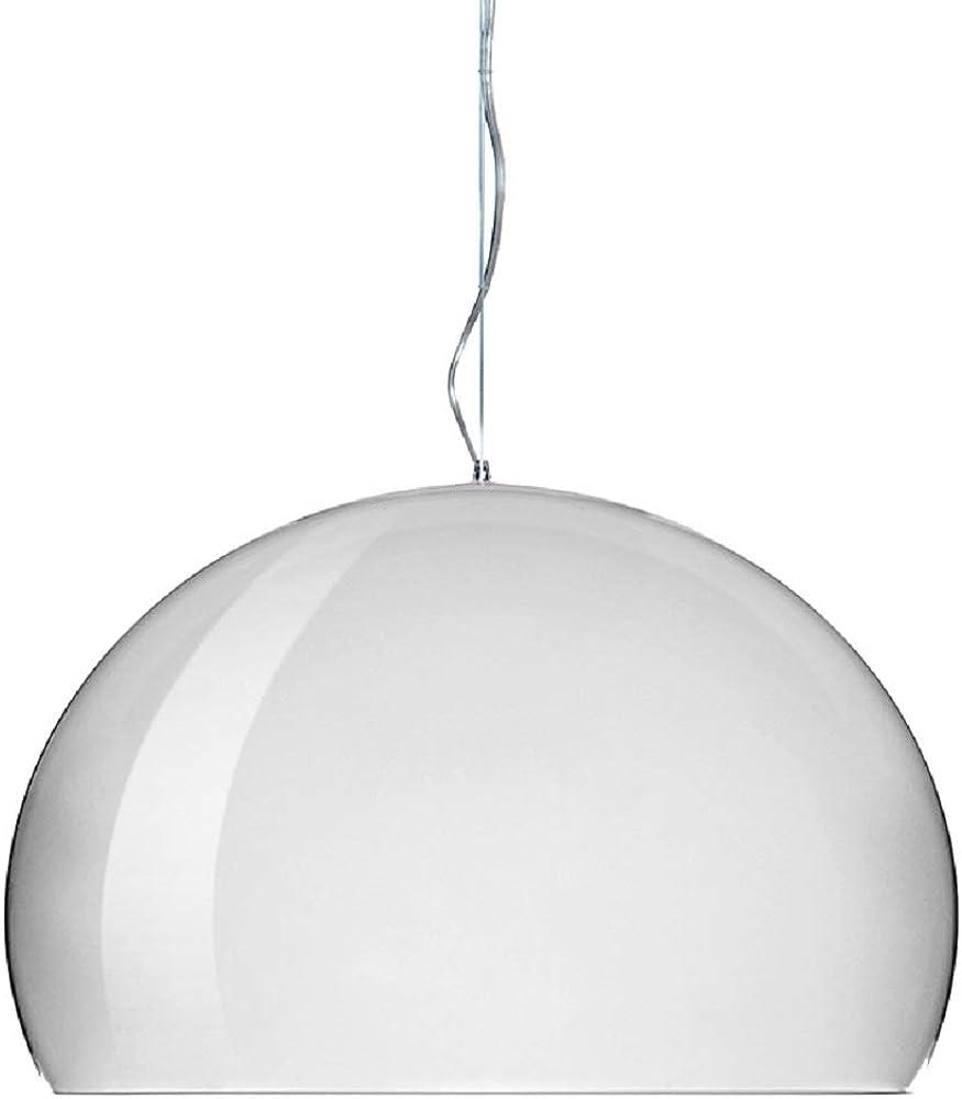 kartell, fl/y lampada a sospensione e27, 15 w 0903003