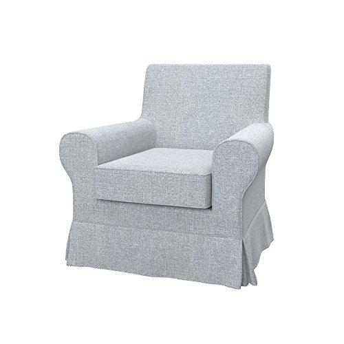 Soferia - IKEA EKTORP JENNYLUND Funda para sillón, Naturel Light Grey