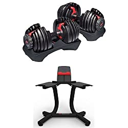 Adjustable Dumbbells are space efficient