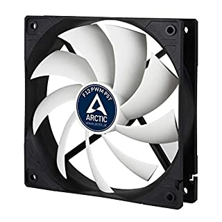 ARCTIC F12 PWM PST - 120 mm PWM PST Case Fan with PWM Sharing Technology (PST), quiet motor, Computer, Fan Speed: 230-1350 RPM - Black/White (B002QVLBM2) | Amazon price tracker / tracking, Amazon price history charts, Amazon price watches, Amazon price drop alerts