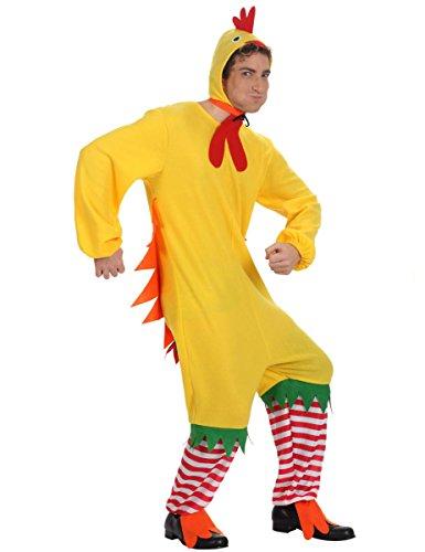 ATOSA disfraz pollo hombre adulto amarillo M
