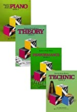 Bastien Piano Basics Set (Piano, Theory, Performance, Technic, Level 3, 4 Book Set)