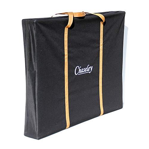 Chaseley Sac de rangement plat 125 x 100 x 15 cm pour tente, auvent, tableau de conférence Art A0, table de camping, chaise inclinable, sous le lit, résistant à l'eau et aux UV, matériau résistant