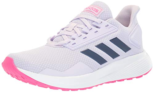 adidas Duramo 9 Running Shoe, Purple Tint/Tech Indigo/Shock...