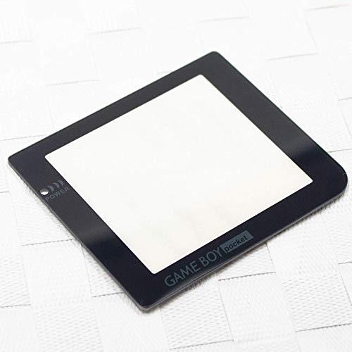 Display Scheibe Nintendo Gameboy Pocket Ersatz Austausch Game Boy Sichtscheibe aus Plastik Farbe Schwarz