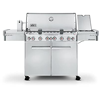 Weber Summit S-670 Stainless-Steel 769-Square-Inch Grill