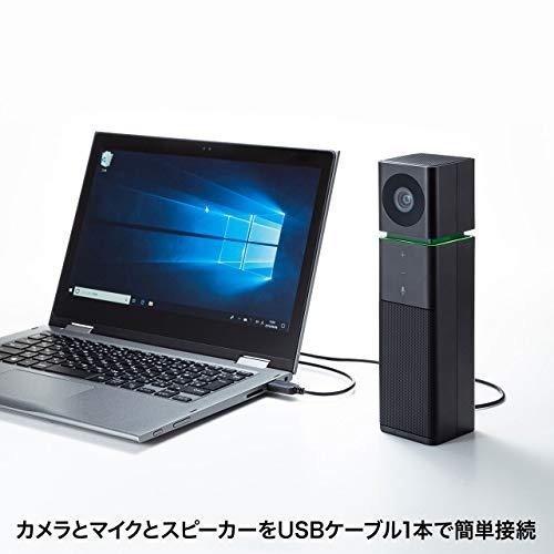 サンワサプライカメラ内蔵USBスピーカーフォンCMS-V47BK