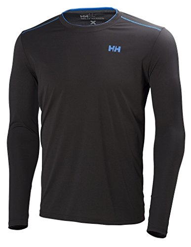 Helly Hansen VTR T-Shirt à Manches Longues Homme Noir FR : S (Taille Fabricant : S)