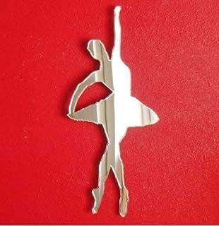 aheadad Adesivo murale Specchio Decorazioni per la casa Ballerini Ballerini Adesivi per Studio Materiali di Protezione Ambientale Inodore Nearby Typical Contemporary kindhearted Stunning