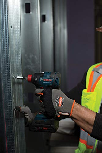 BOSCH GDX18V-1800CB15 Freak 18V EC Brushless Connected-Ready 1/4 In. and 1/2 In. Two-In-One Bit/Socket Impact Driver Kit with (1) CORE18V 4.0 Ah Compact Battery