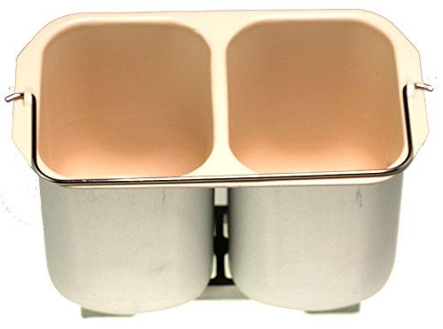 Unold 6851180 Keramik-Backform für 8660, 68511 Brotbackautomat, Backmeister